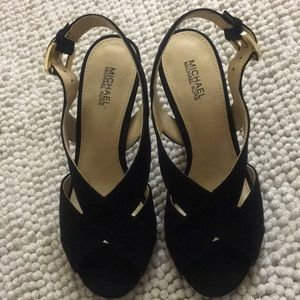 Michael kors Black Becky sandals